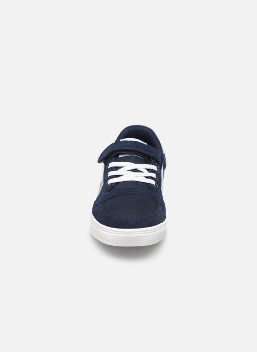 Sneakers Hummel SLIMMER STADIL LOW JR Blauw model