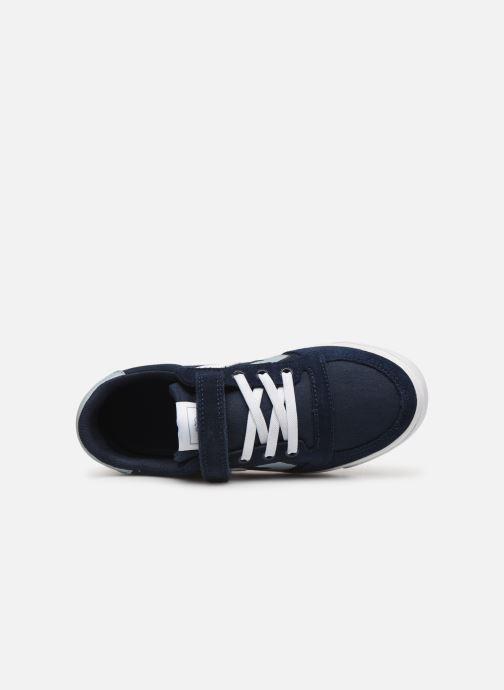 Sneakers Hummel SLIMMER STADIL LOW JR Blauw links