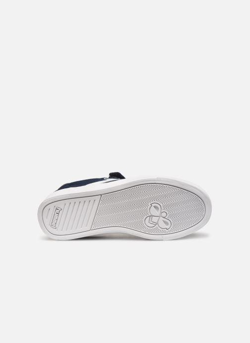 Sneakers Hummel SLIMMER STADIL LOW JR Azzurro immagine dall'alto