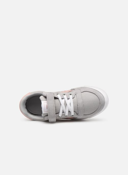 Trainers Hummel SLIMMER STADIL LOW JR Grey view from the left