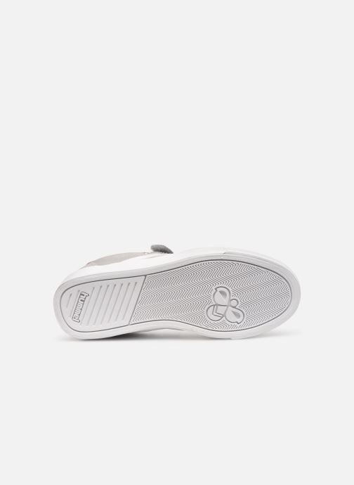 Trainers Hummel SLIMMER STADIL LOW JR Grey view from above