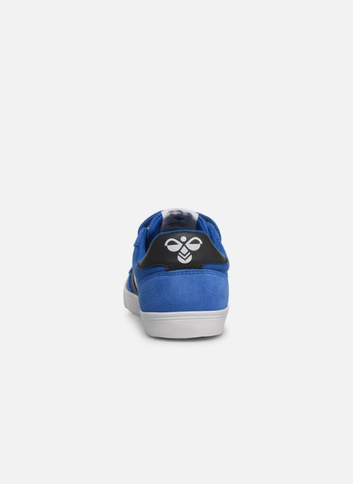 Baskets Hummel SLIMMER STADIL LOW JR Bleu vue droite