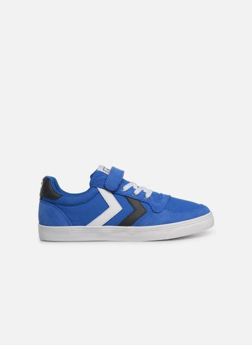 Sneakers Hummel SLIMMER STADIL LOW JR Azzurro immagine posteriore