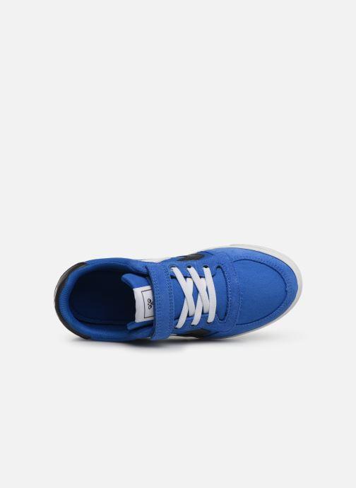Sneakers Hummel SLIMMER STADIL LOW JR Azzurro immagine sinistra