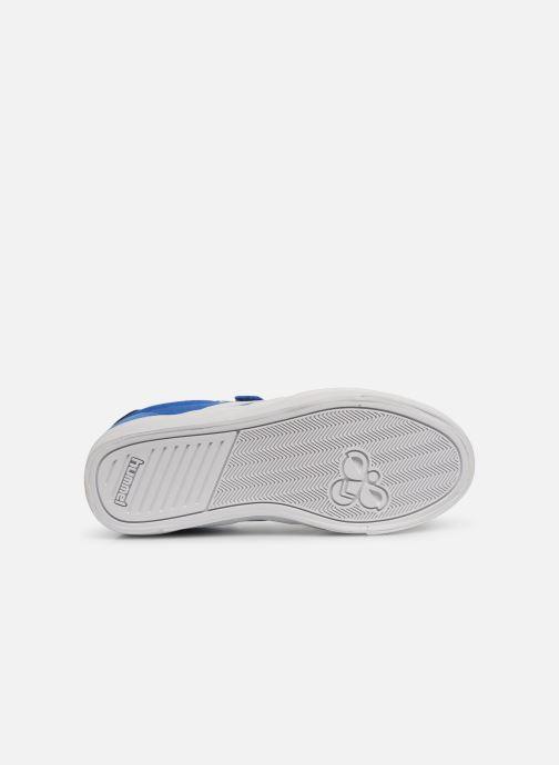 Sneakers Hummel SLIMMER STADIL LOW JR Blauw boven