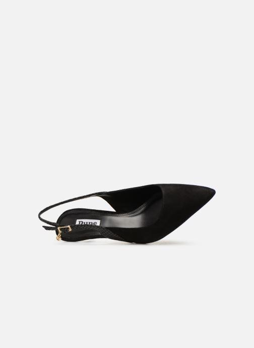 Zapatos de tacón Dune London CINDA Negro vista lateral izquierda