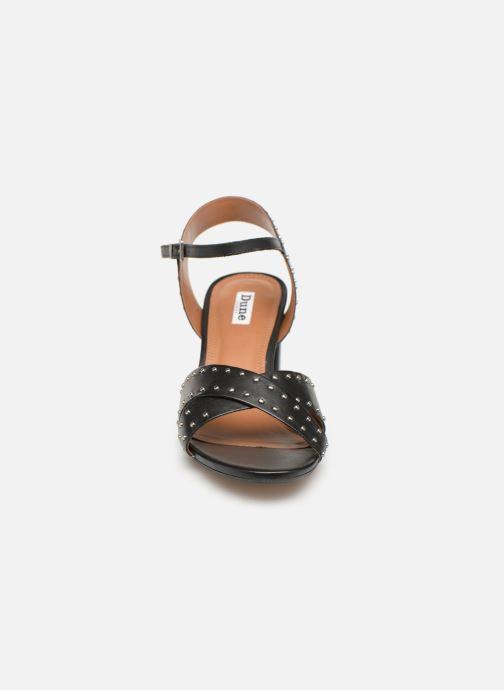 Sandales et nu-pieds Dune London JOYRIDE Noir vue portées chaussures