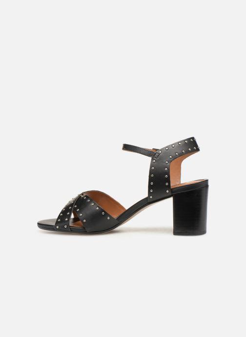 Sandales et nu-pieds Dune London JOYRIDE Noir vue face