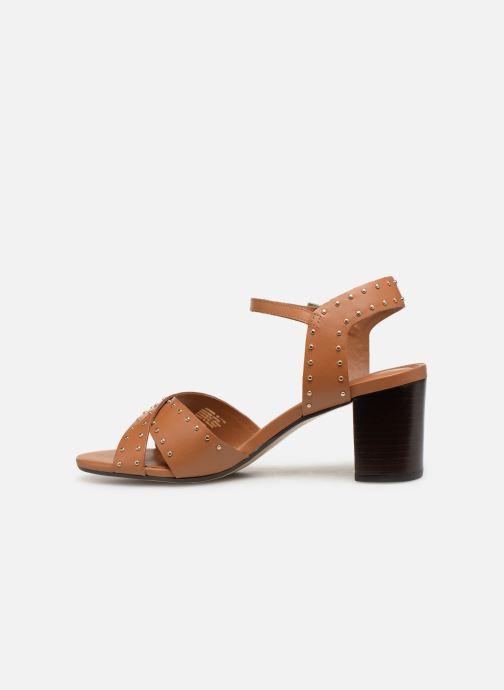 Sandales et nu-pieds Dune London JOYRIDE Marron vue face