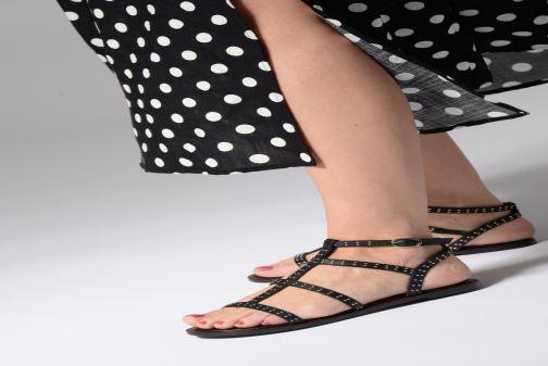 Sandales et nu-pieds Dune London LAKKE Noir vue bas / vue portée sac