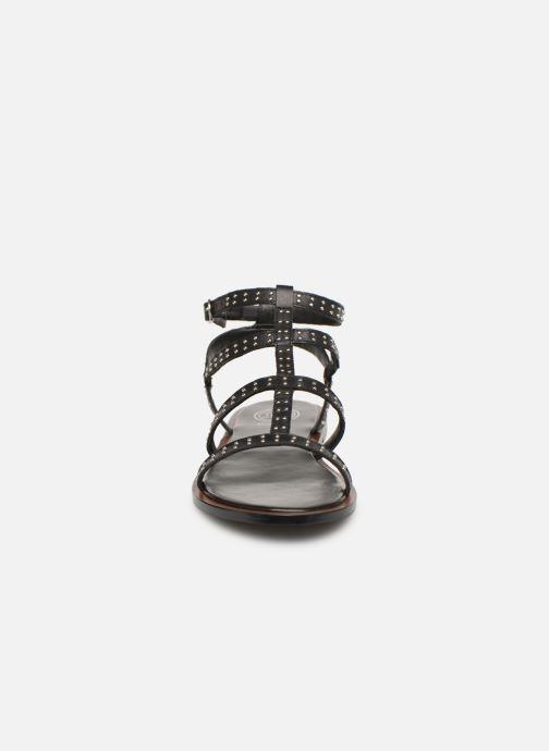 Sandales et nu-pieds Dune London LAKKE Noir vue portées chaussures