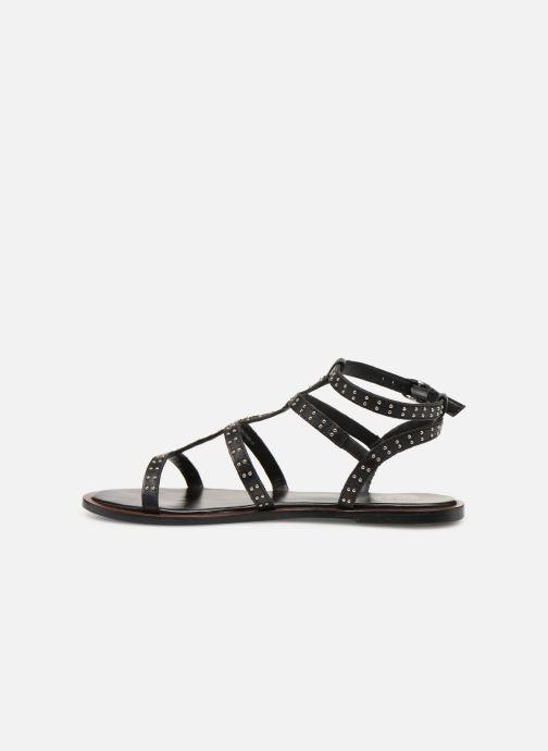 Sandales et nu-pieds Dune London LAKKE Noir vue face