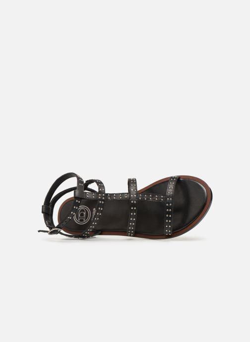 Sandales et nu-pieds Dune London LAKKE Noir vue gauche