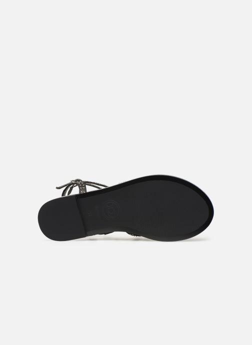 Sandales et nu-pieds Dune London LAKKE Noir vue haut