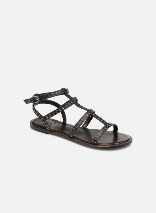 Sandales et nu-pieds Dune London LAKKE Noir vue détail/paire