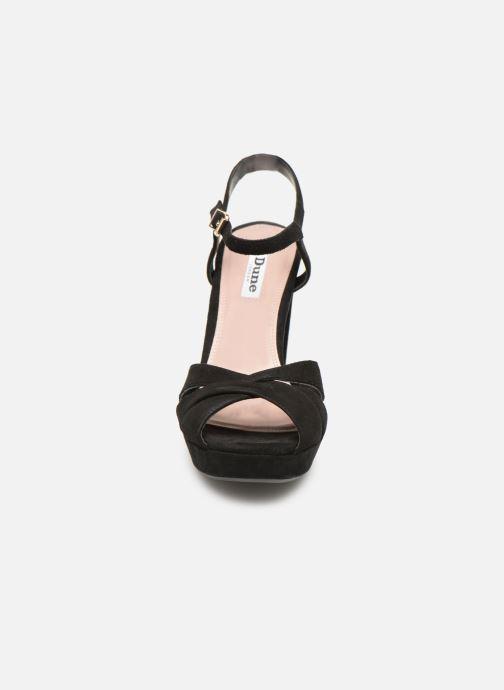 Sandales et nu-pieds Dune London MAGGIE Noir vue portées chaussures