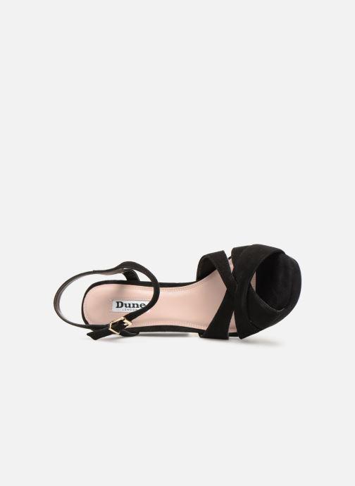 Sandales et nu-pieds Dune London MAGGIE Noir vue gauche