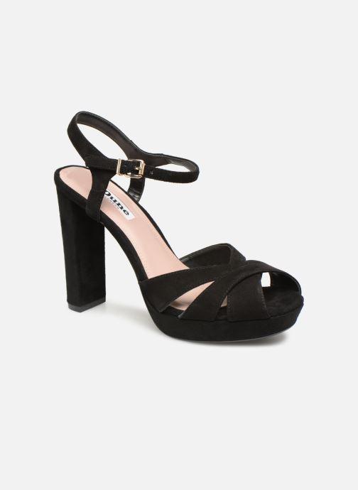 Sandales et nu-pieds Dune London MAGGIE Noir vue détail/paire