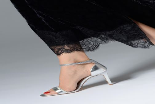 Sandali e scarpe aperte Dune London MERINO Rosa immagine dal basso