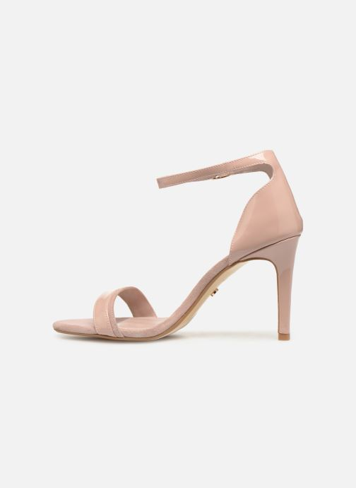Sandales et nu-pieds Dune London MERINO Rose vue face