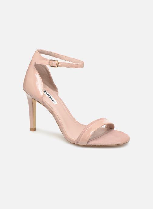 Sandales et nu-pieds Dune London MERINO Rose vue détail/paire