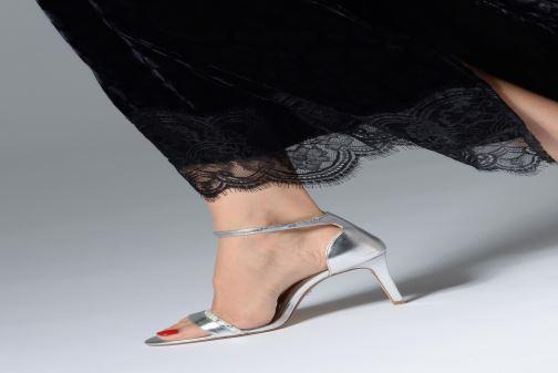 Sandali e scarpe aperte Dune London MERINO Argento immagine dal basso