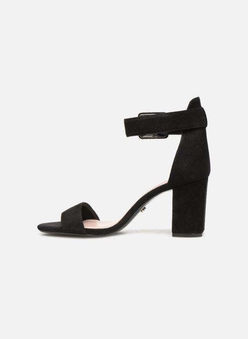 Sandales et nu-pieds Dune London MIRROR Noir vue face