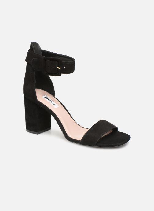 Sandales et nu-pieds Dune London MIRROR Noir vue détail/paire