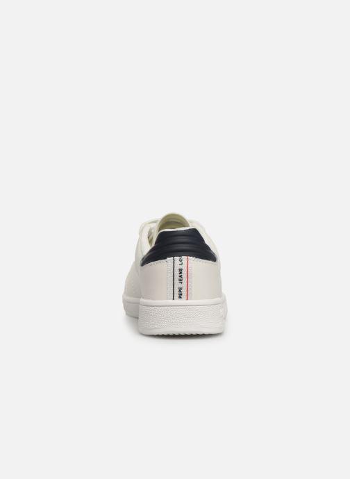 Baskets Pepe jeans Brompton Basic Boy Blanc vue droite