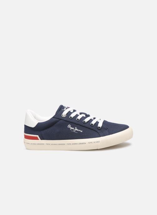 Baskets Pepe jeans Tennis Canvas Bleu vue derrière