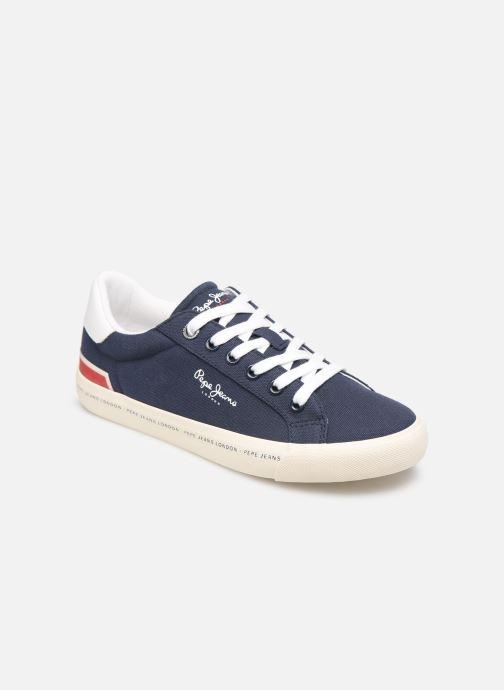 Baskets Pepe jeans Tennis Canvas Bleu vue détail/paire