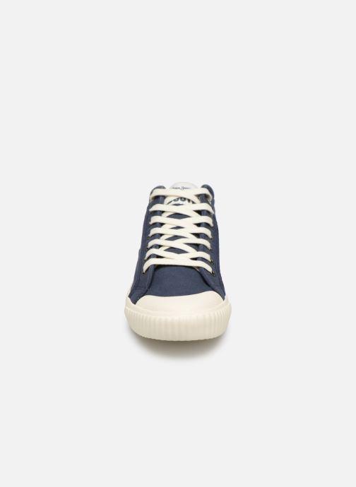 Baskets Pepe jeans Industry Combi Junior Bleu vue portées chaussures
