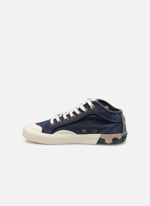 Baskets Pepe jeans Industry Combi Junior Bleu vue face