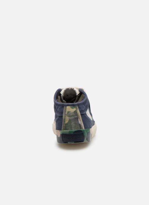 Baskets Pepe jeans Industry Combi Junior Bleu vue droite