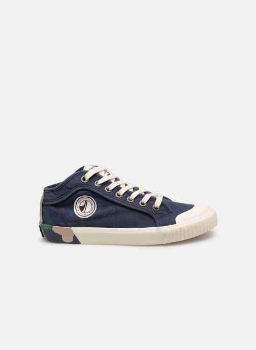 Baskets Pepe jeans Industry Combi Junior Bleu vue derrière