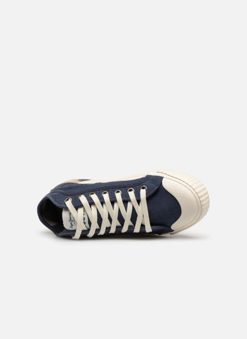 Baskets Pepe jeans Industry Combi Junior Bleu vue gauche