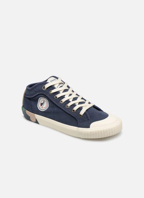 Baskets Pepe jeans Industry Combi Junior Bleu vue détail/paire