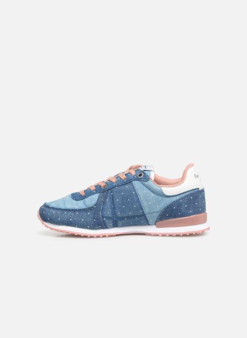 Sneaker Pepe jeans Sydney Topos blau ansicht von vorne