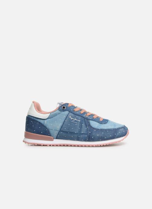 Sneaker Pepe jeans Sydney Topos blau ansicht von hinten