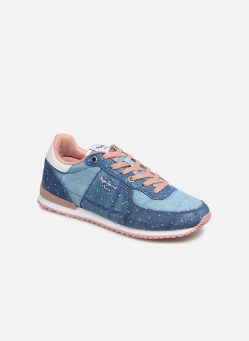 Baskets Pepe jeans Sydney Topos Bleu vue détail/paire
