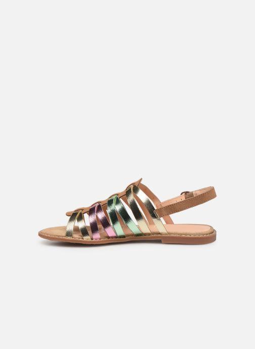 Sandals Pepe jeans Elsa Tiras Metal Multicolor front view