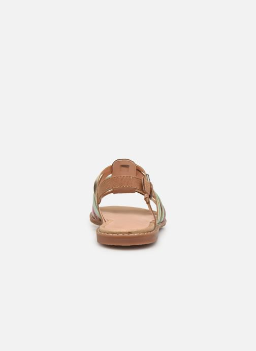 Sandals Pepe jeans Elsa Tiras Metal Multicolor view from the right