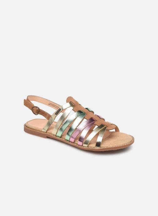 Sandalias Pepe jeans Elsa Tiras Metal Multicolor vista de detalle / par