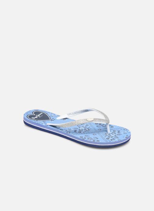 Tongs Pepe jeans Beach Bandana Bleu vue détail/paire
