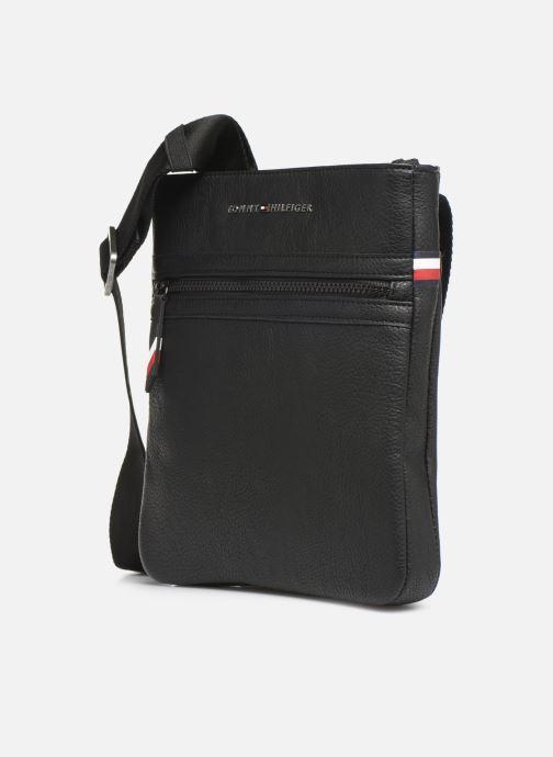 Herrentaschen Tommy Hilfiger ESSENTIAL CROSSOVER schwarz schuhe getragen