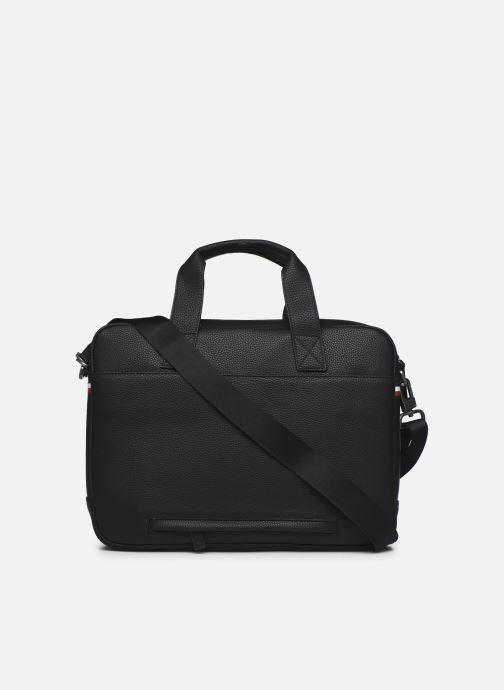 Laptoptaschen Tommy Hilfiger ESSENTIAL COMPUTER BAG schwarz ansicht von vorne