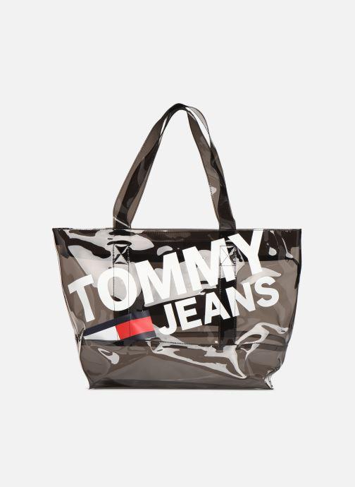 Bolsos de mano Tommy Hilfiger TJU SUMMER TOTE TRAN Negro vista de detalle / par