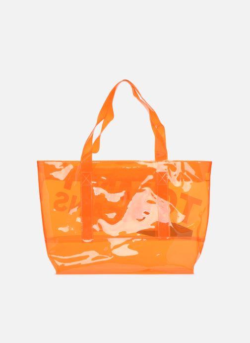 Sacs à main Tommy Hilfiger TJU SUMMER TOTE TRAN Orange vue face