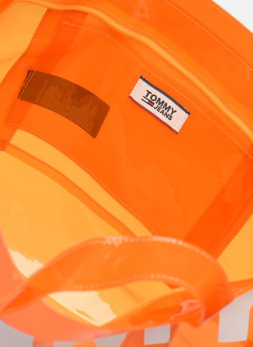 Handtassen Tommy Hilfiger TJU SUMMER TOTE TRAN Oranje achterkant