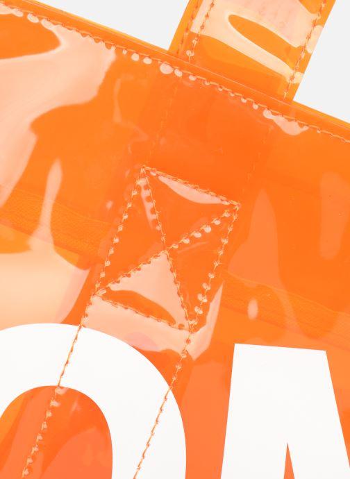 Handtassen Tommy Hilfiger TJU SUMMER TOTE TRAN Oranje links